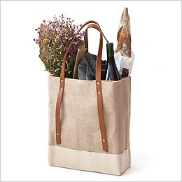 Reusable Wine/Garden Tote by Apolis