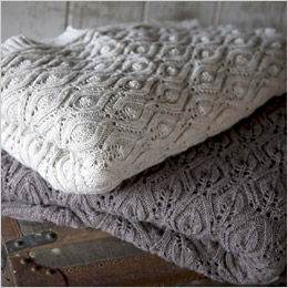 Knitted Throw by Nkuku