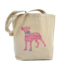 Pitbull Tote Bag by R.O.A.R