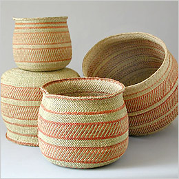 Iringa Baskets by Bamboula Ltd