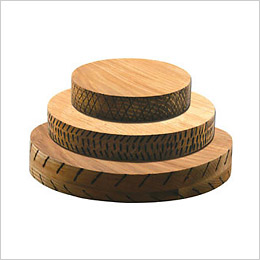 Round Chopping Board by Canvas