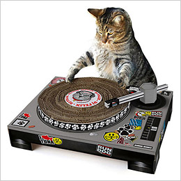 DJ Cat Scratching Pad for ASPCA