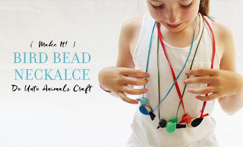 The Great Backyard Bird Count: Beaded Bird Necklaces