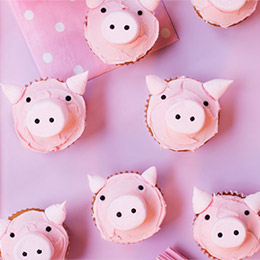 Make It! Piggy Cupcakes