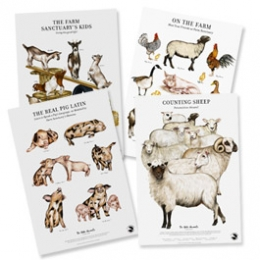 Do Unto Animals Print Set