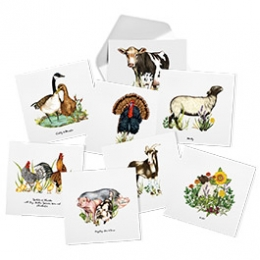 Animal Ambassador Note Cards