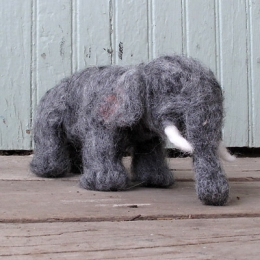 Felted Elephants